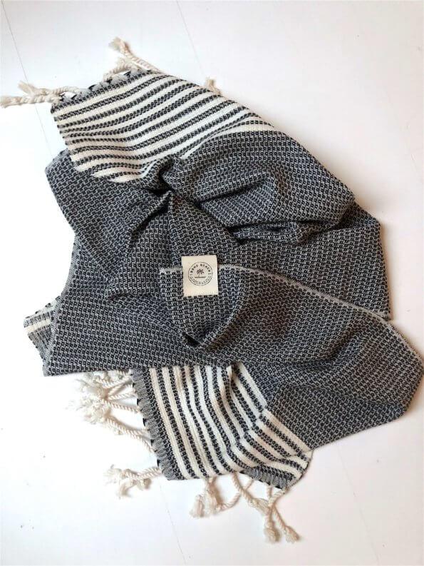 Produkt billede af gæstehåndklæde cannes sort
