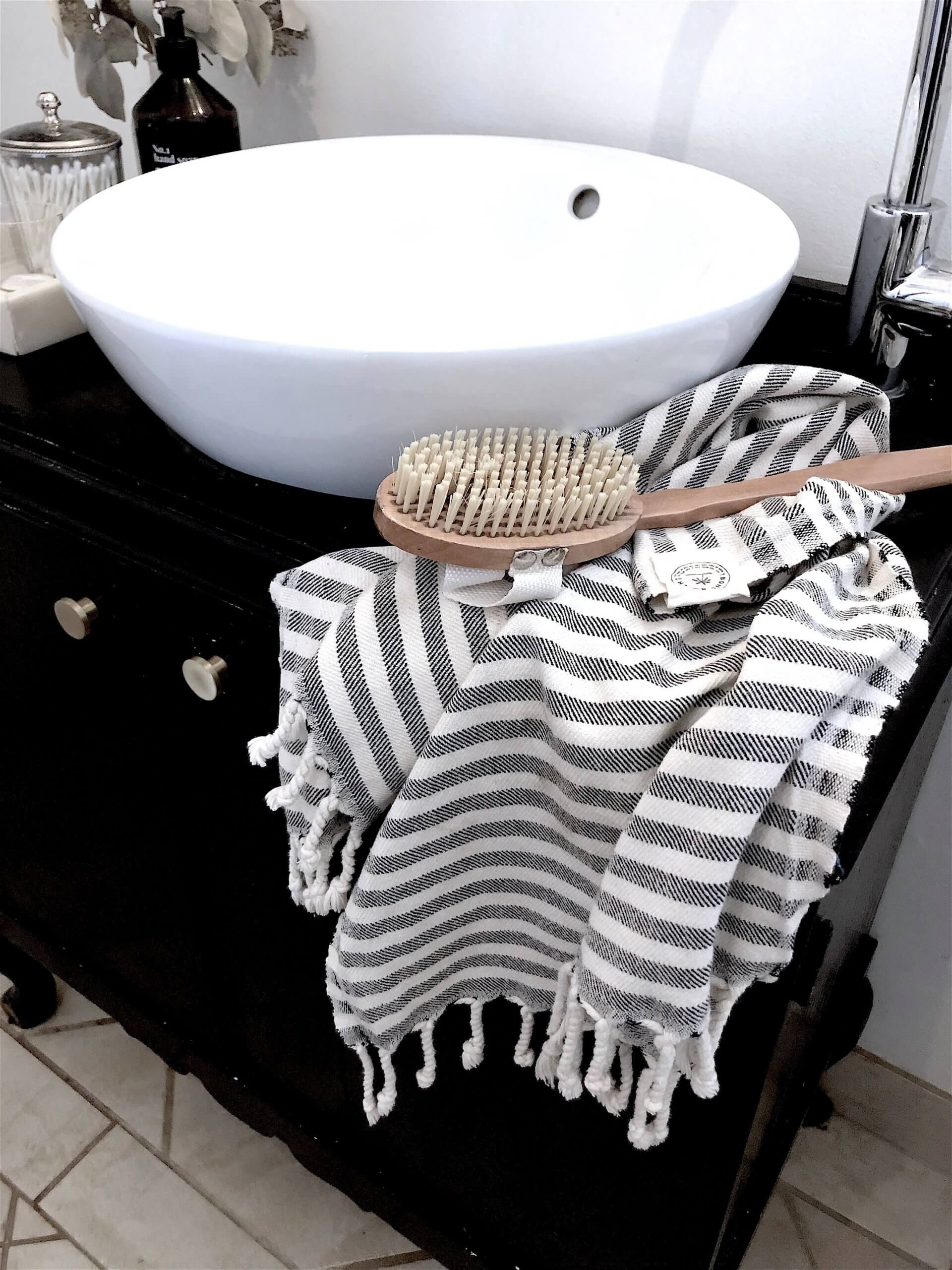 Gæstehåndklæde - Santorini
